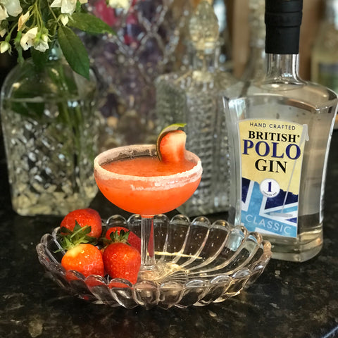Barrington Ayre Soar Cocktail with British Polo Gin