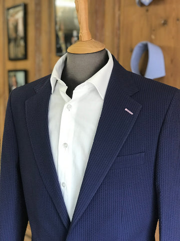 Seersucker from Barrington Ayre Bespoke Tailor