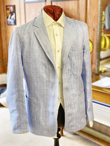 Made in Cirencester Jacket - Herringbone Linen