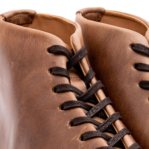Abington Hi Top Toe Cap Horween Natural Chromexcel - Made to Order Shoe