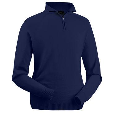 Zip Neck Long Sleeve Merino Jumper - BARRINGTON AYRE SPORT