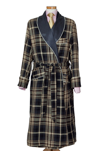 Tweed Dressing Gown