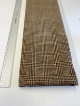 Mid Brown Glencheck Tweed