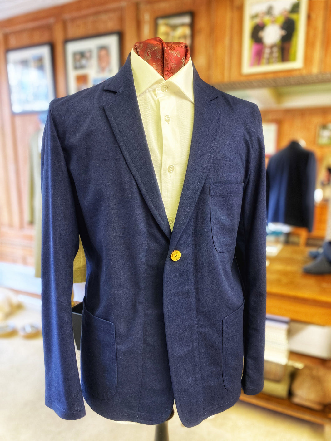 Made in Cirencester Jacket - Linen
