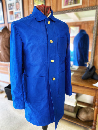 Waxed Cotton Lido Coat