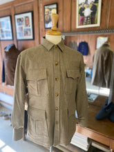 Saharian Overshirt in Merino Wool