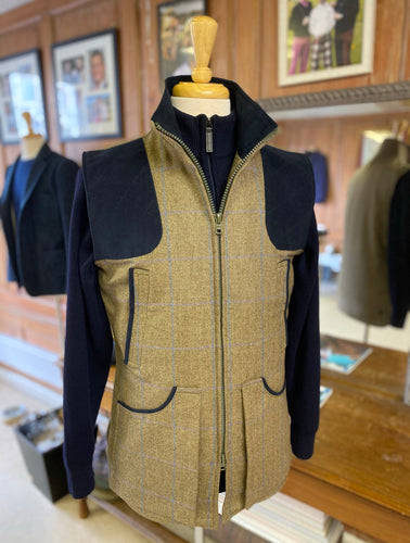 Full zip shooting vest