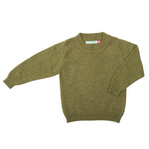 Cashmere round neck children's jumper - BARRINGTON AYRE SPORT