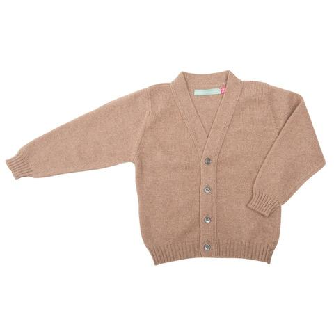 V neck cashmere cardigan - Children's - BARRINGTON AYRE SPORT