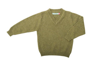 Cashmere V Neck Children's Jumper - BARRINGTON AYRE SPORT