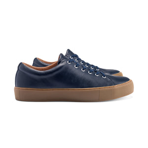 Navy Overstone Derby - Made to Order Shoes
