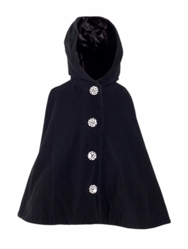 Little Black Poncho - Little Poncho - BARRINGTON AYRE SPORT