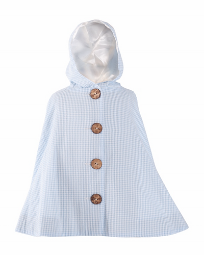 Heidi blue - Little Poncho - BARRINGTON AYRE SPORT