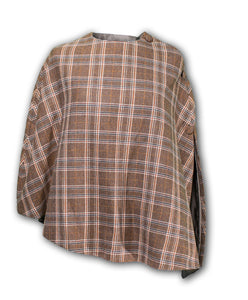 Lightweight tweed riding cape - BARRINGTON AYRE SPORT