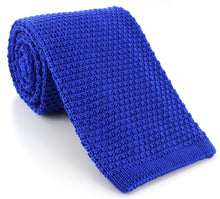 WIDE silk knitted ties