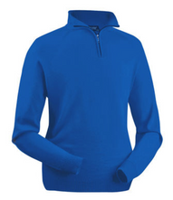 Zip Neck Long Sleeve Merino Jumper