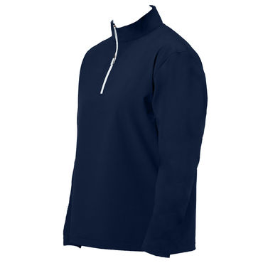 Windproof water resistant quarter zip navy - Large