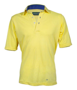 Bespoke 'NaturalAyre' Cotton polo shirt - BARRINGTON AYRE SPORT