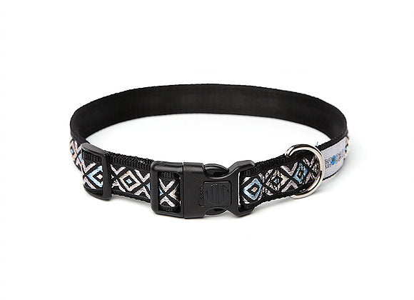 #AZTECDOG Cyan Eye Collar