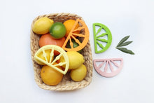 Load image into Gallery viewer, Citrus Style Silicone Teethers