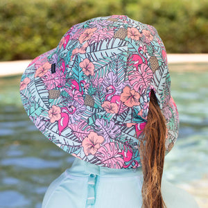 Swim Bucket Hat - Tropical (Large & XL Available)