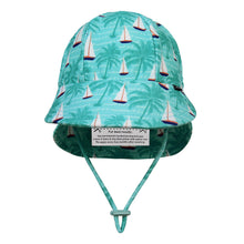 Load image into Gallery viewer, Swim Legionnaire Hat - Boats (XXS & Medium Available)
