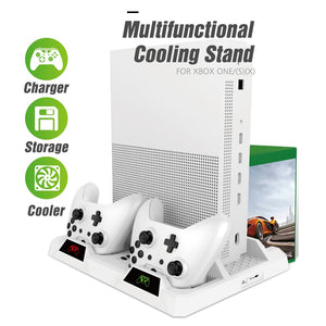 Cooling Vertical Stand Charger for Xbox ONE/S/X Console