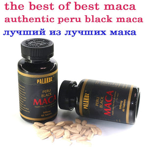 Peruvian Pure black Maca Root Extracts