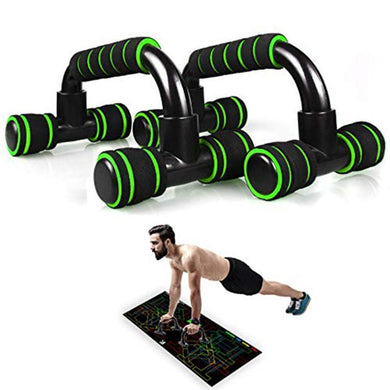 H-shape Fitness Push Up Bars