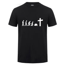 Load image into Gallery viewer, Men's Jesus Evolution  T Shirt