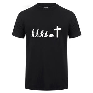 Men's Jesus Evolution  T Shirt