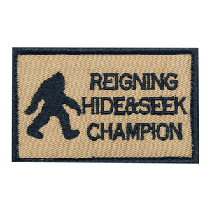 Reigning Hide & Seek Champion