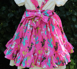 Toddler Girls Dresses - llama Dress - Girls Jumper Dress