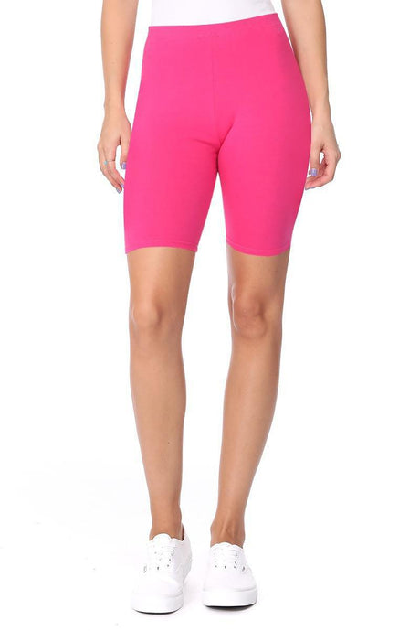 Alexa Biker Shorts (Hot Pink)