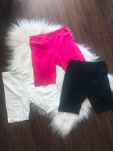 Load image into Gallery viewer, Alexa Biker Shorts (Hot Pink)
