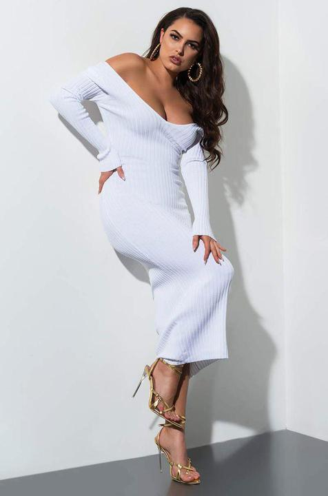 Catalina Dress (White)