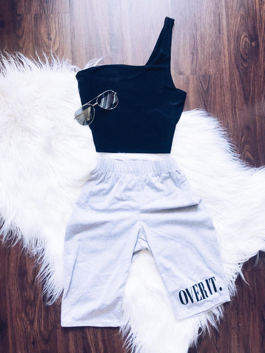 Over It Biker Shorts