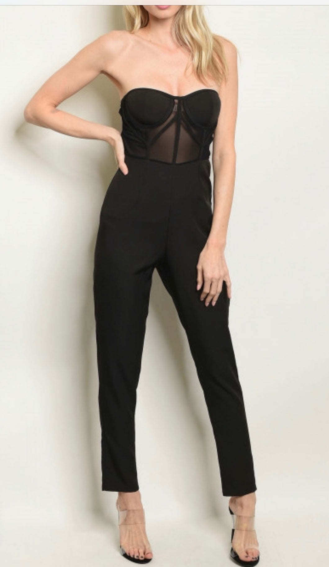 Grace Jumpsuit- Blk