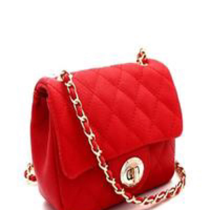 Charlotte Crossbody- Red