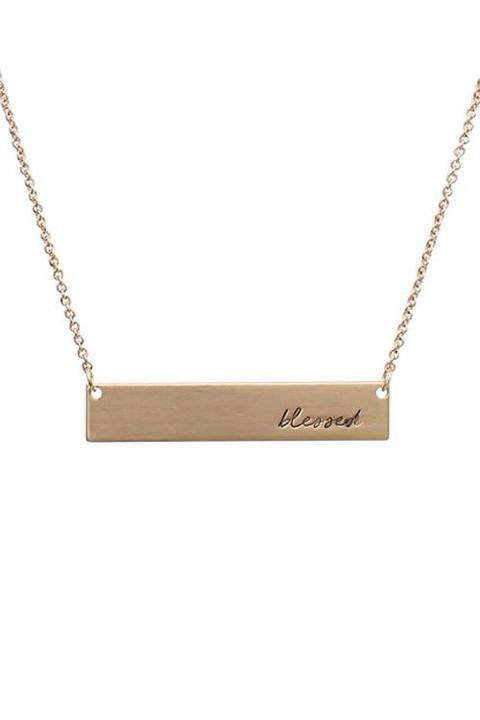 Blessed Necklace (gold)