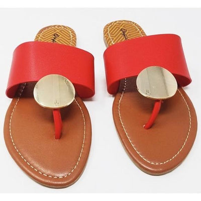 Bellini Sandal- Red - Simply Jazzy boutique