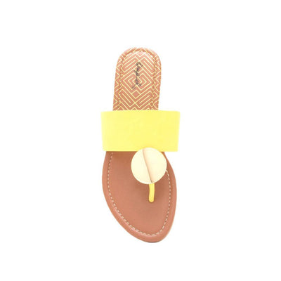 Bellini Sandal- Yel - Simply Jazzy boutique