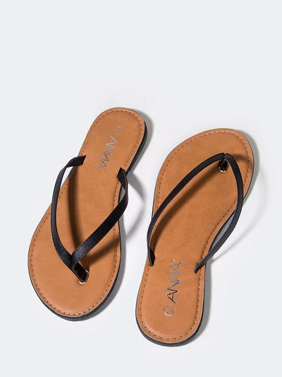 Brite Sandal- Blk Footwear Simply Jazzy Boutique