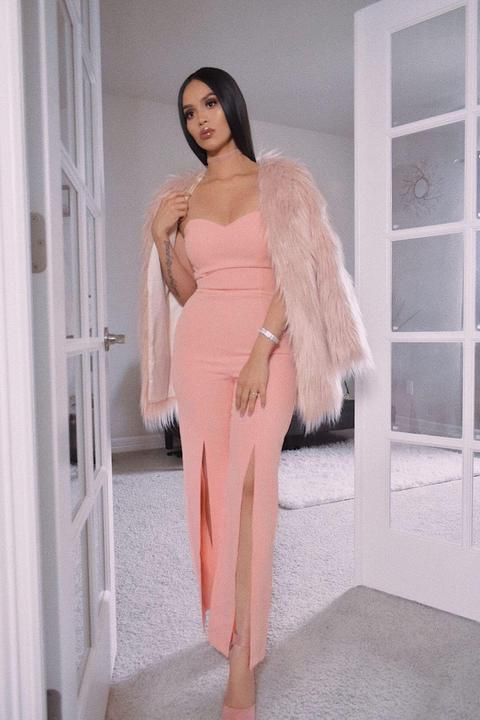 Perfectly Suited Jumpsuit- Pink