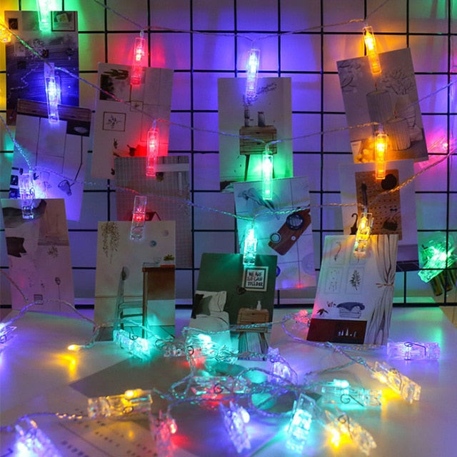 Led Photo Clips