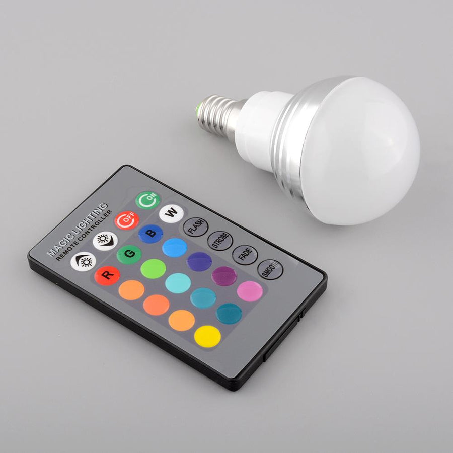Multi-Color Light Bulb + Remote