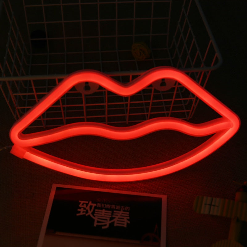 LİP Neon Decor Light