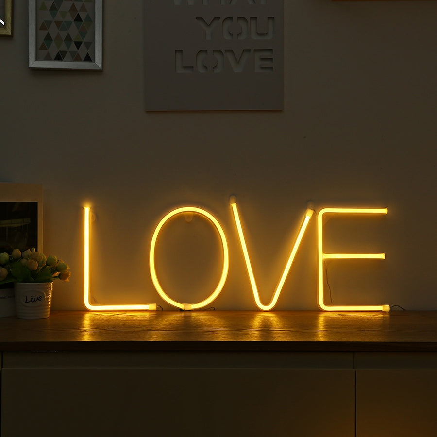 LOVE Neon Decor Light