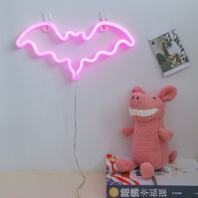 BAT Neon Decor Light