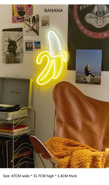 BANANA Neon Light